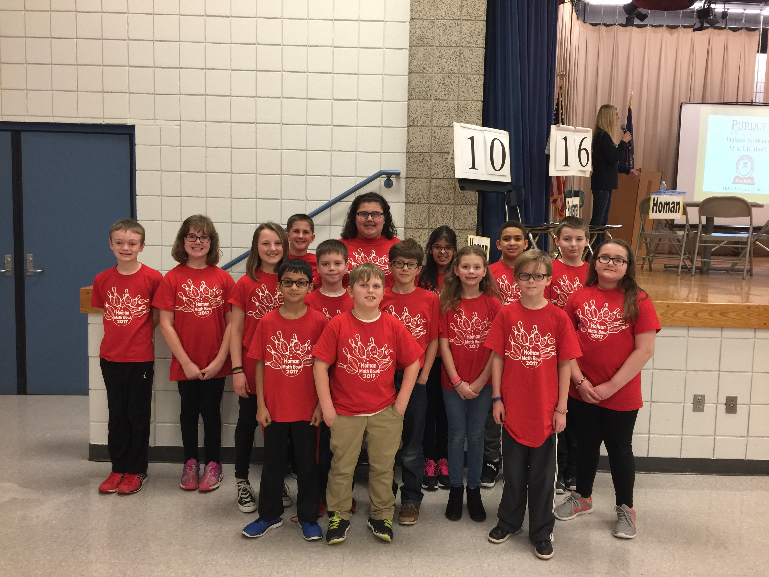 Picture of Math Bowl Team